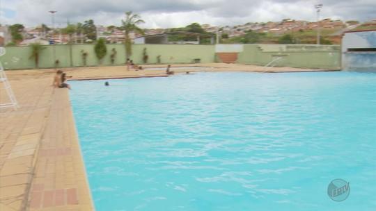 Complexo aquático é reaberto após vistoria em Poços de Caldas, MG