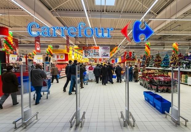 Loja da rede de supermercados Carrefour (Foto: Dreamstime)