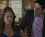 Tancinha (Mariana Ximenes) e Beto (João Baldasserini)  | Reprodução/TV Globo