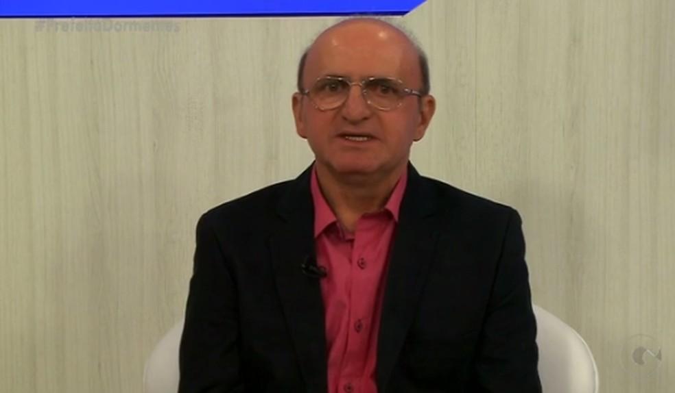 Prefeito de Dormentes, Geomarco Coelho (Foto: Reprodução/ TV Grande Rio)