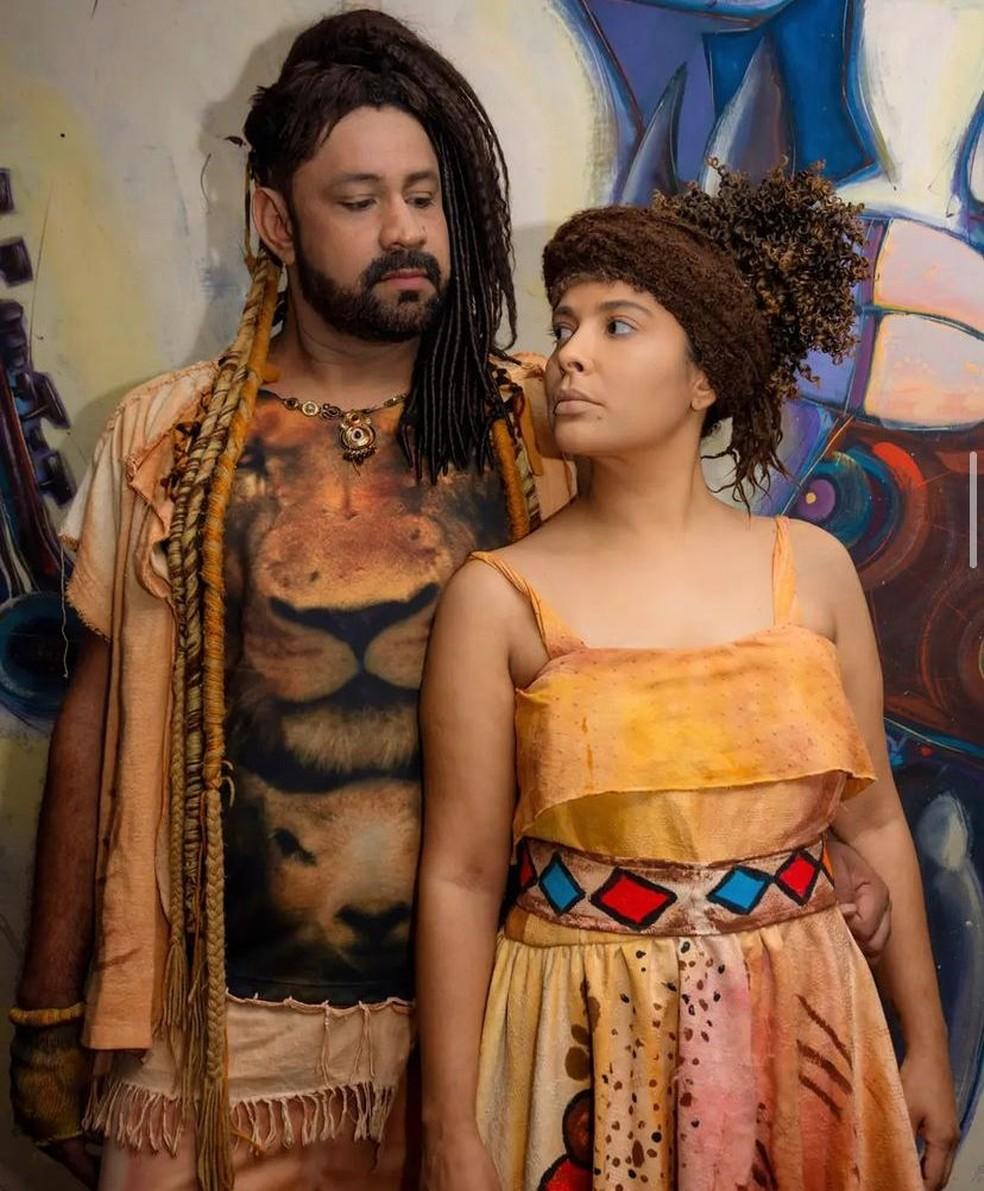 Ex-BBB Gyselle Soares foi escolhida para interpretar Esperança Garcia — Foto: Jociel Fotografias