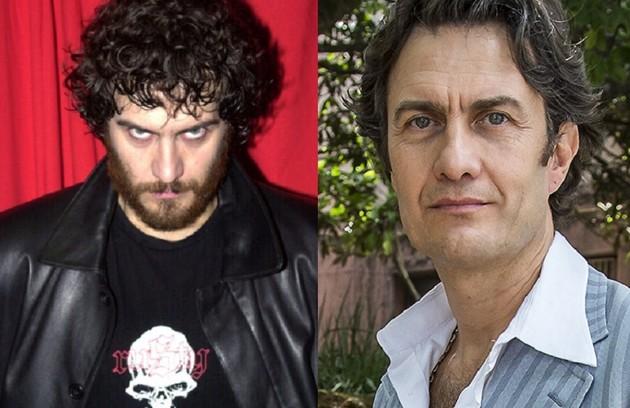 Gabriel Braga Nunes foi o vampiro Victor, metido a galã. O ator esteve em 'Hebe' (Foto: Globo)