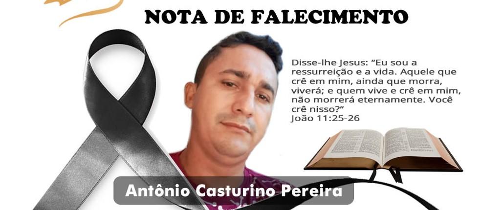 Corpo de Antônio Casturino foi velado em Alta Floresta — Foto: Funerária Bom Pastor/Reprodução