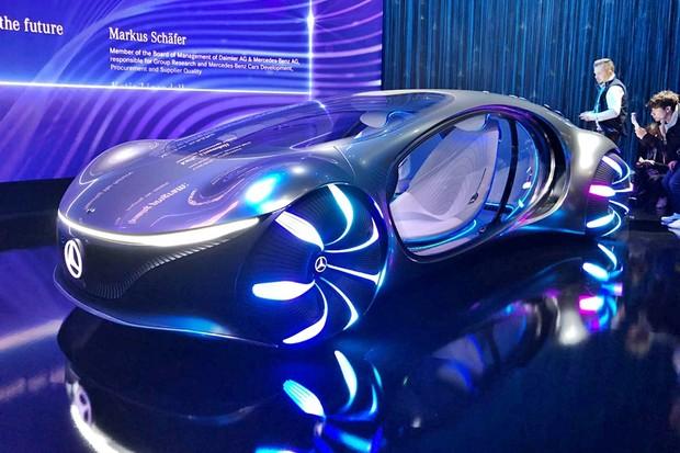 Mercedes Vision AVTR (Foto: Michelle Ferreira/Autoesporte)