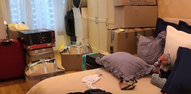 Dani Souza mostra quarto do filho com a mudança (Foto: Reprodução)