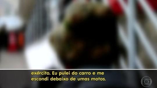 Taxista é rendido por bandidos em fuga da Rocinha: 'Pulei'