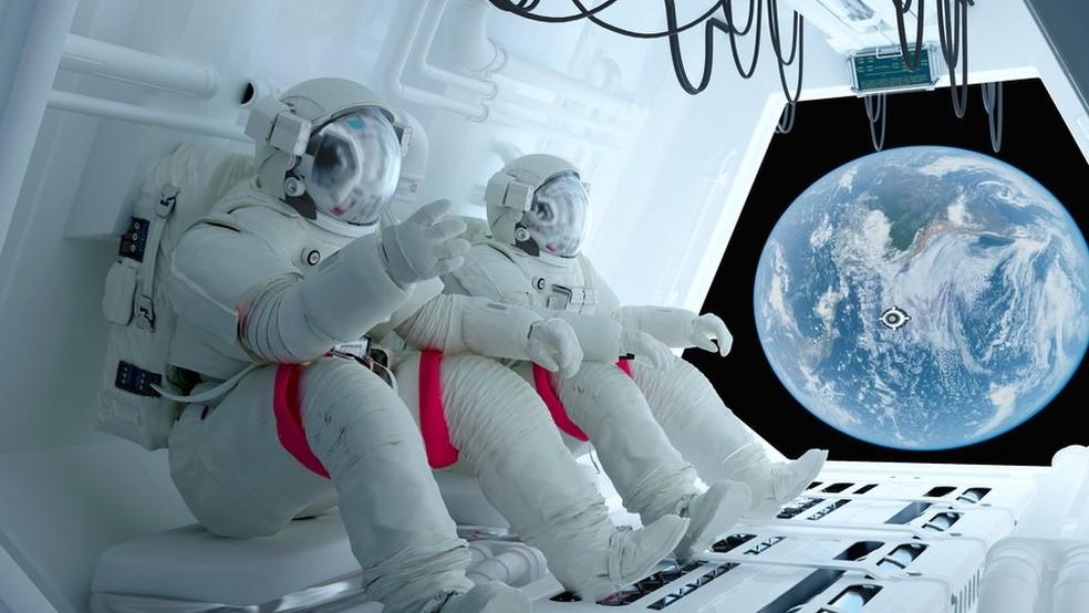 Transporte de alimentos costuma ser um desafio em missões espaciais  (Foto: Getty Images)