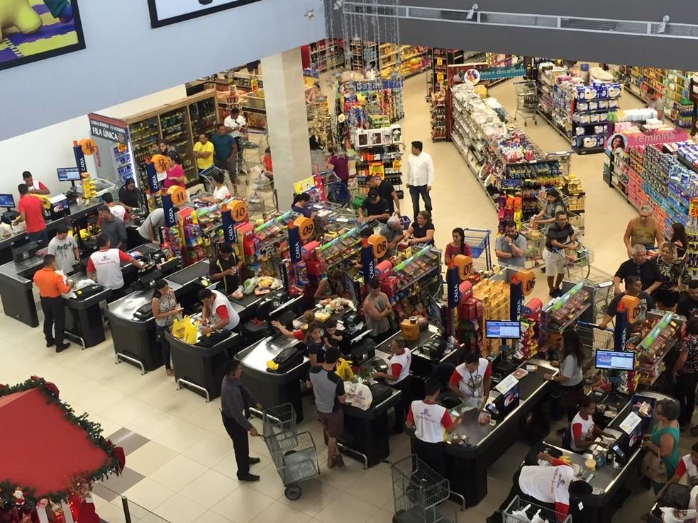 Supermercados são os principais alvos para uso da ferramenta — Foto: Larissa Emille/Arquivo Pessoal