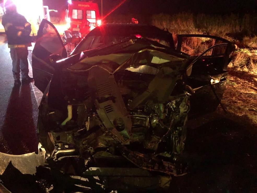 Quatro pessoas morreram após batida em rodovia de Tarumã — Foto: Arquivo Pessoal