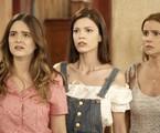 Juliana Paiva, Vitória Strada e Deborah Secco em cena de 'Salve-se quem puder' | Globo