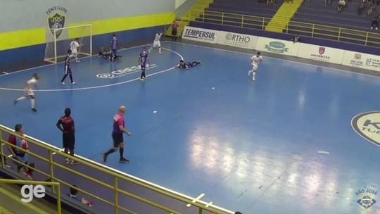 De virada, São José vence e tira 100% de aproveitamento do Dracena na Liga Paulista de Futsal