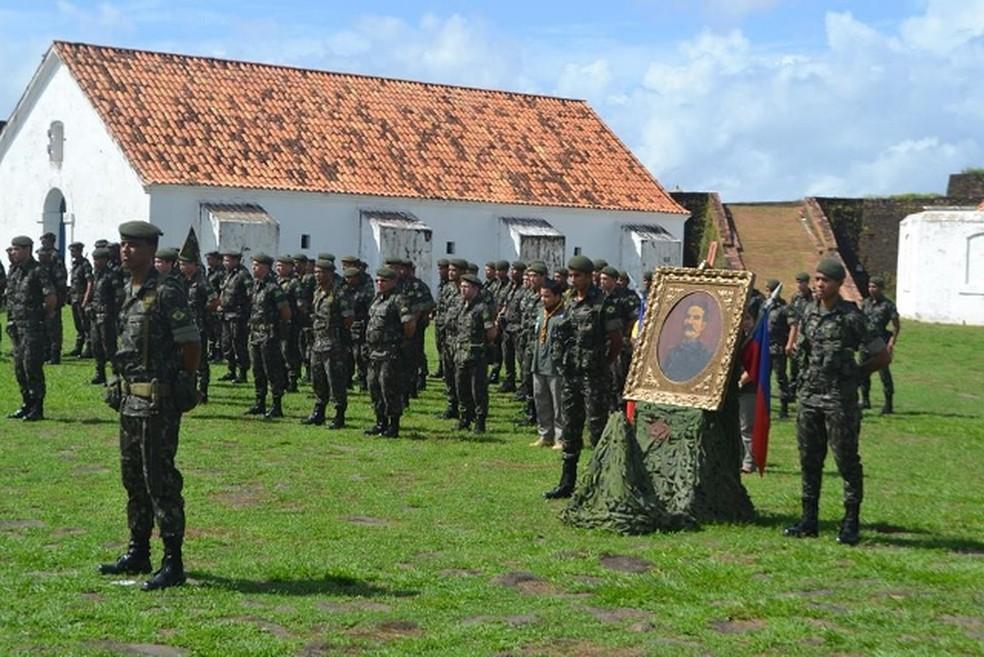 -  Formatura contou com cerca de 100 militares  Foto: 34º BIS/Divulgação
