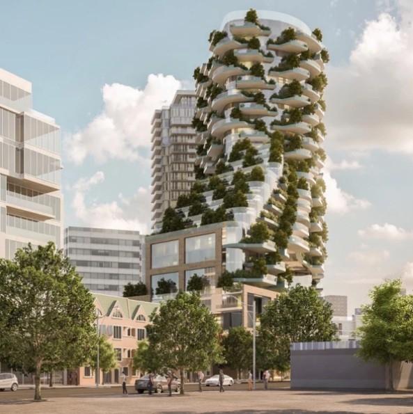 prédio verde Toronto´2 (Foto: Divulgação)