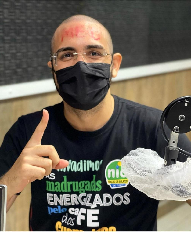 Luiz Gustavo Oliveira, de 19 anos, passou em primeiro lugar no curso de Medicina na UFRN, em Caicó — Foto: Gláucia Lima