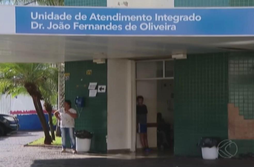 -  Gestantes reclamam de atendimento na UAI Martins em Uberlândia  Foto: Reprodução/TV Integração