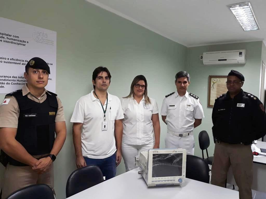 PM articula operação para recolher e consertar respiradores em Minas Gerais