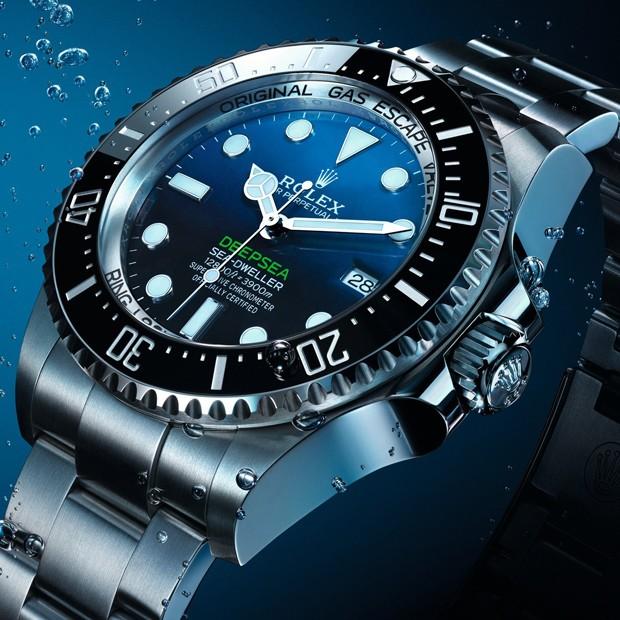 O Oyster Perpetual Deepsea da Rolex (Foto: Divulgação)