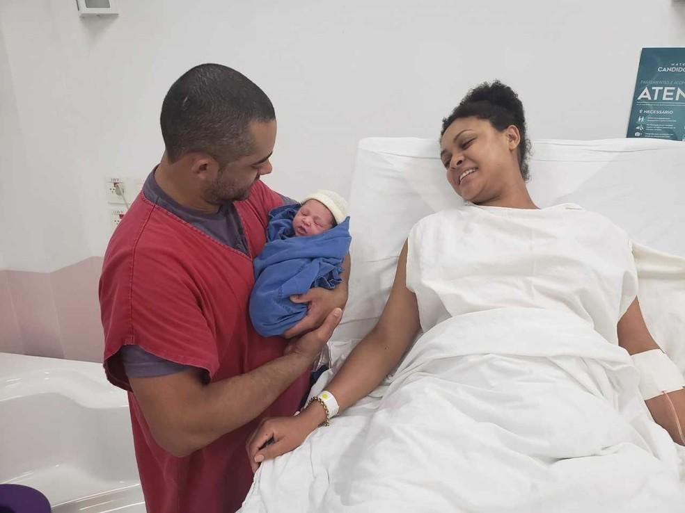Pais e responsáveis de bebês  serão capacitados para treinamento de primeiros socorros, em MS. — Foto: Divulgação/Maternidade Cândido Mariano