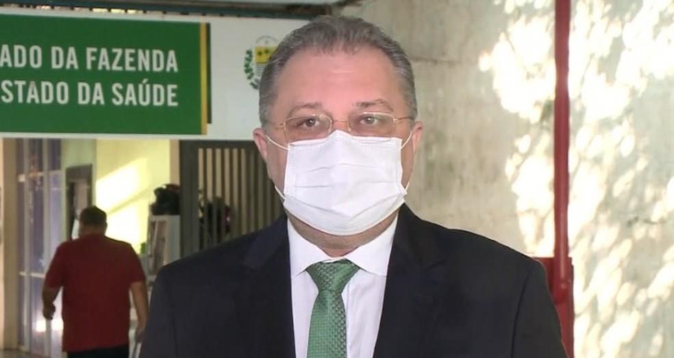 Florentino Neto, secretário de saúde do Piauí — Foto: Reprodução/TV Clube