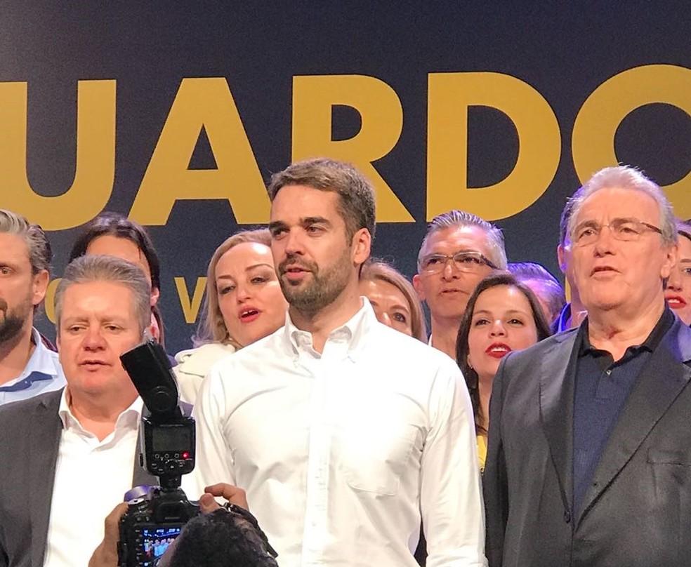 PSDB confirma Eduardo Leite para o governo do estado (Foto: Bernardo Bortolotto/RBSTV)