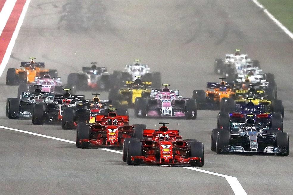 As Ferrari estão em bom momento no Mundial (Foto: EFE)