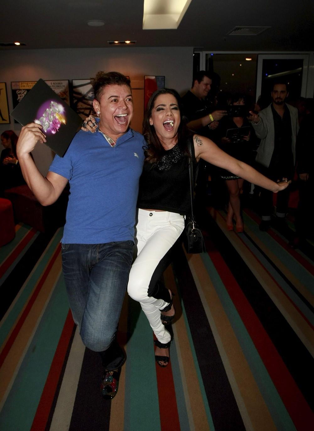 Anitta e David Brazil