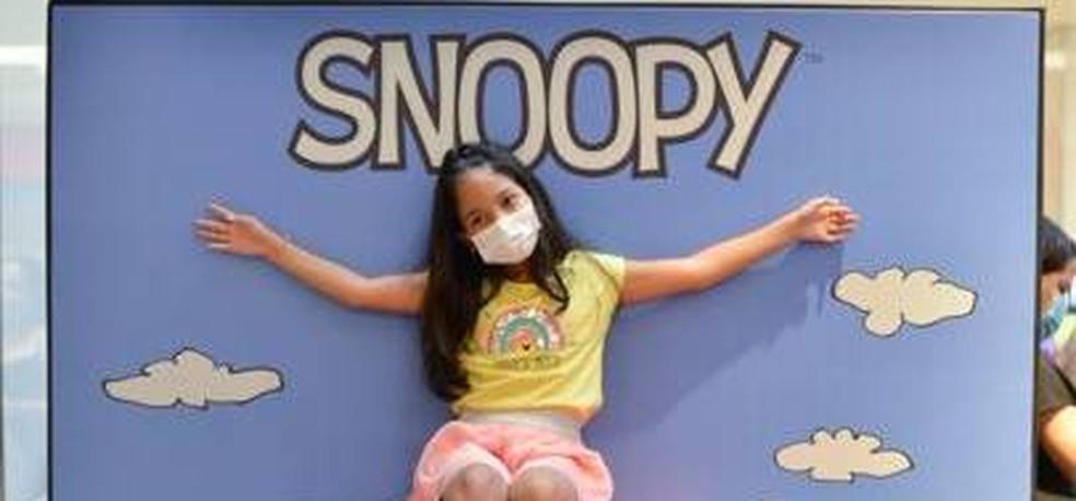 Exposição Turma do Snoopy — Foto: Foto: Divulgação