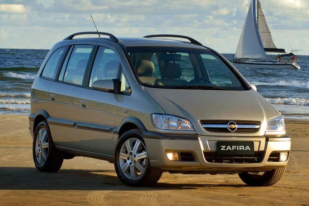 Chevrolet Zafira Elite oferecia interior muito bem projetado (Foto: Divulgação)