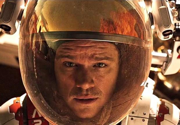 Matt Damon no filme 'Perdido em Marte' (Foto: Reprodução)