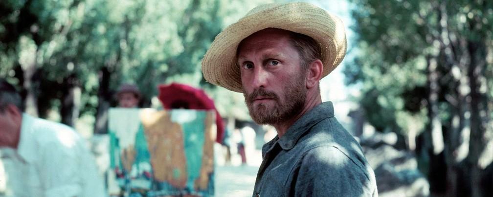 Kirk Douglas em 'Sede de viver' (1956), no papel de Vincent Van Gogh — Foto: Divulgação