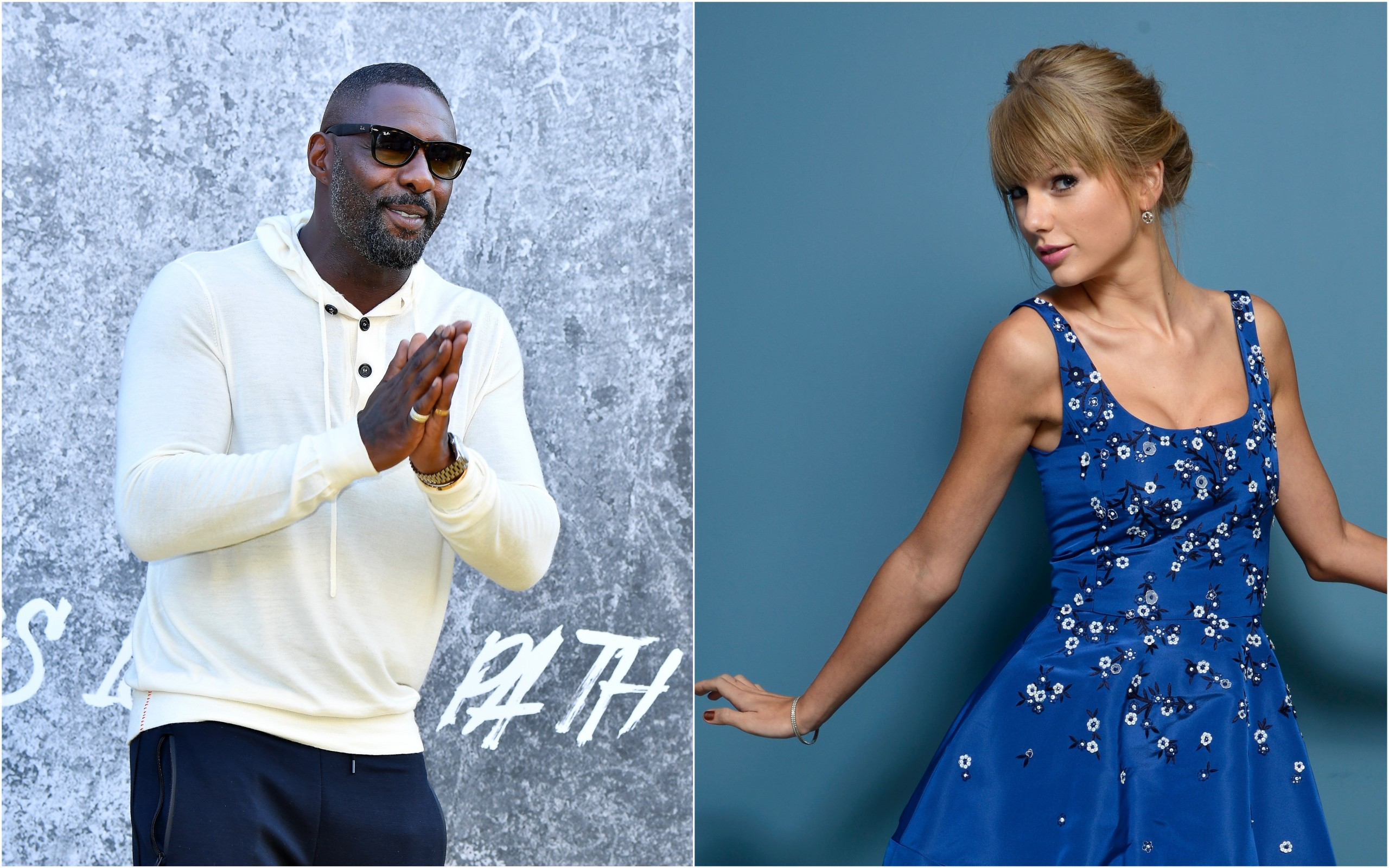 Idris Elba e Taylor Swift estarão presentes na adaptação de Cats para o cinema (Foto: Getty images)