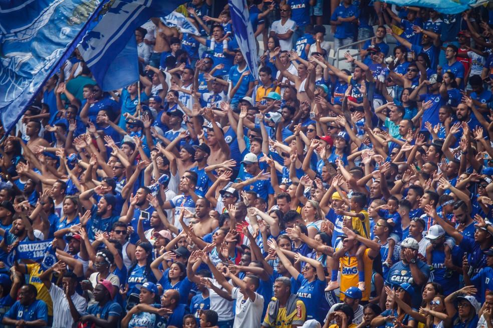 Torcedores que não puderem ir ao Mineirão na quinta-feira serão reembolsados — Foto: Vinnicius Silva/Cruzeiro