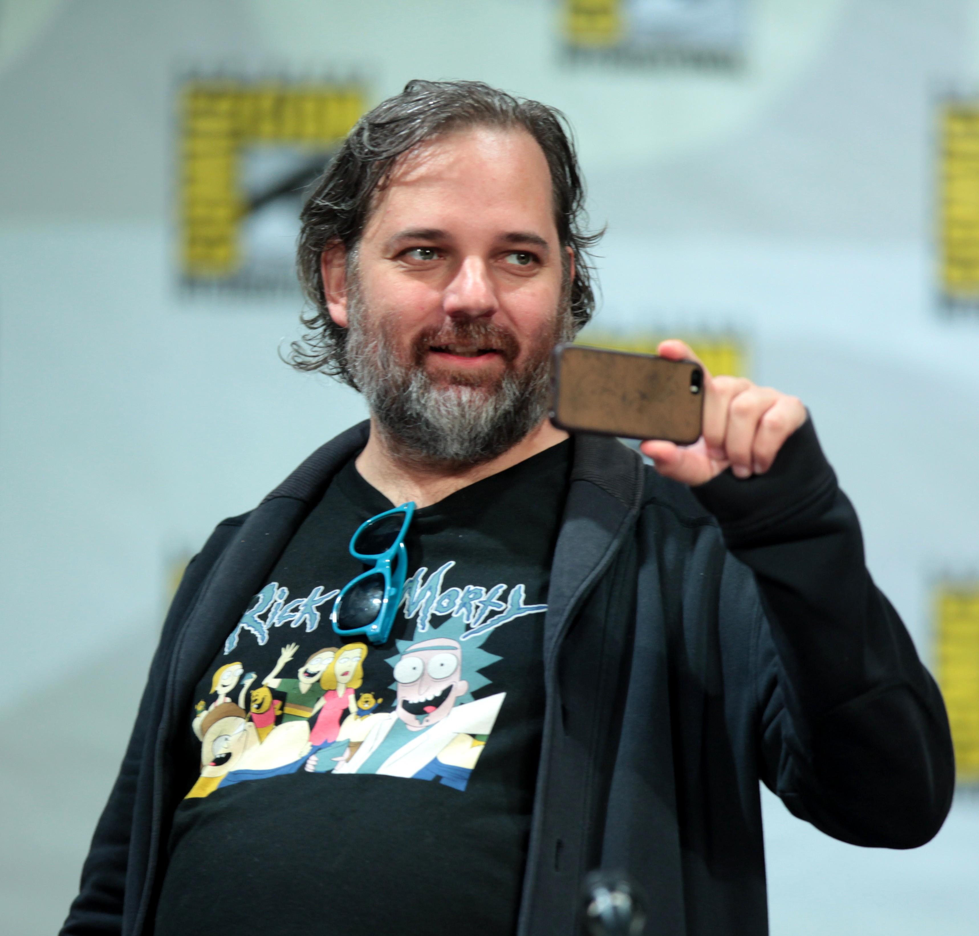 Dan Harmon em painel da Comic Con em San Diego, nos Estados Unidos (Foto: Wikimedia/Gage Skidmore)