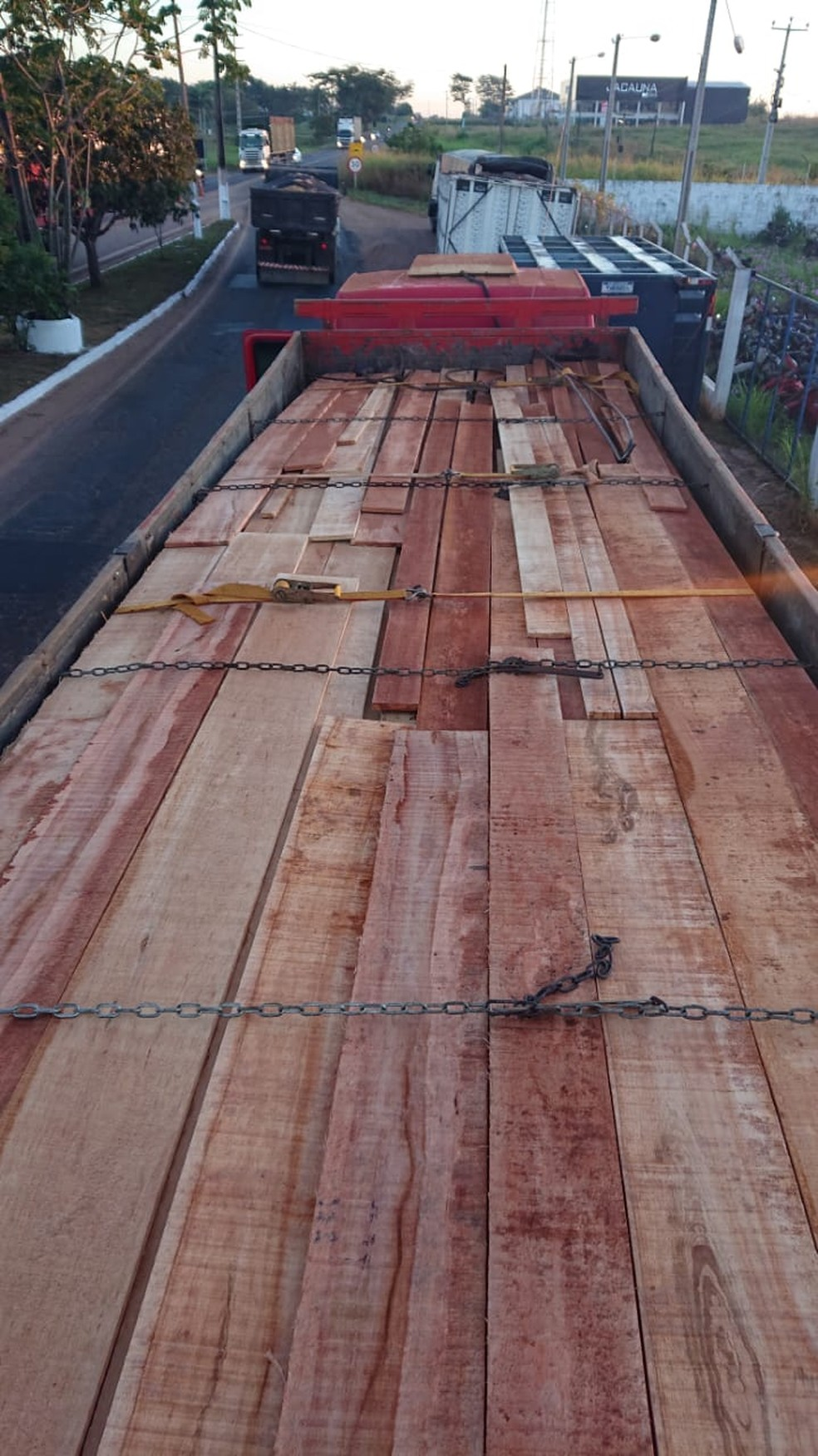 25m3 of lumber seized in Imperatriz