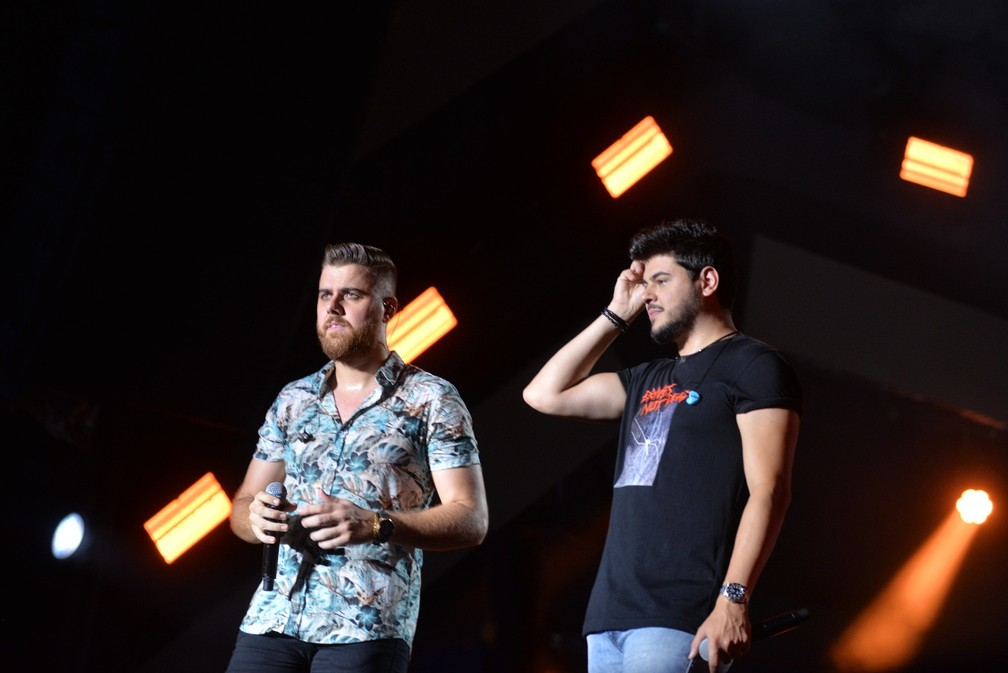 Zé Neto e Cristiano no Festival de Verão 2020, em Salvador — Foto: Joilson César/Ag Haack