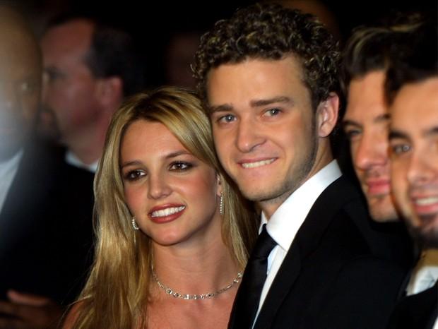 Justin Timberlake e Britney Spears (Foto: Getty Images/Reprodução)