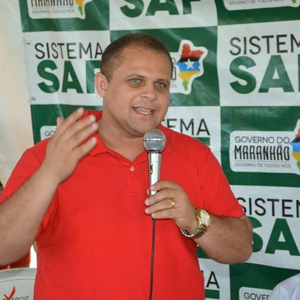 Vice-prefeito de Poção de Pedras, Adenilson Lopes Vitor foi preso por receptação de celular roubado e por não pagar pensão alimentícia — Foto: Arquivo Pessoal
