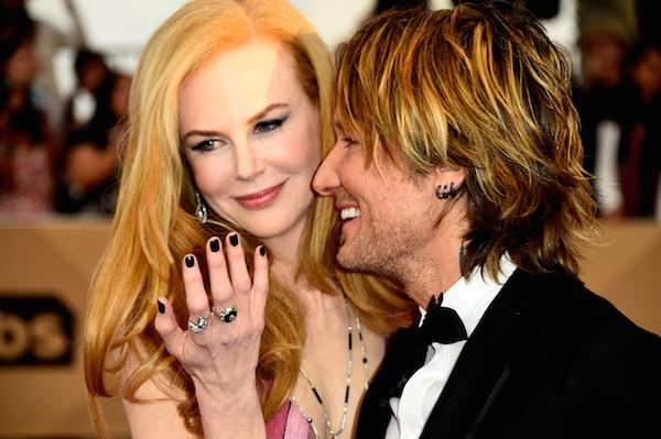 A atriz Nicole Kidman e seu marido, o cantor Keith urban (Foto: Getty Images)