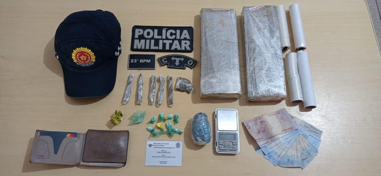 Três suspeitos são presos por tráfico de drogas em Canaã dos Carajás