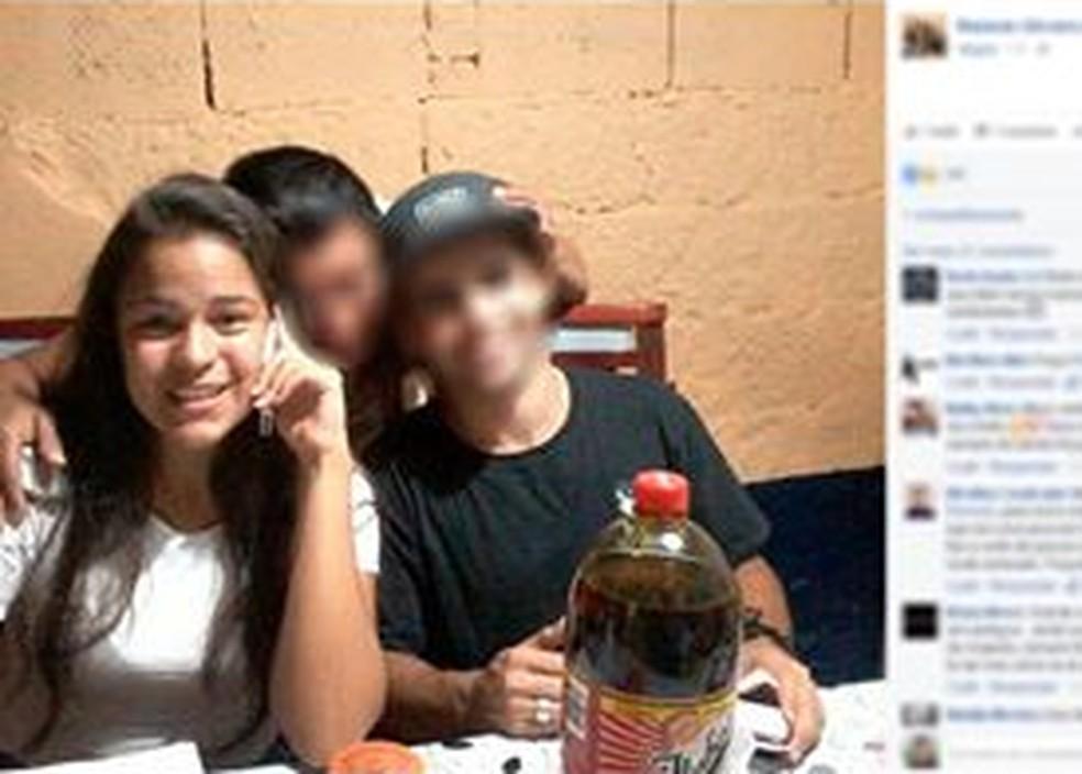 Rita de Cássia morreu no acidente — Foto: Reprodução/Facebook