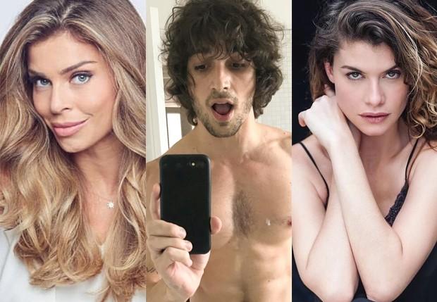 Grazi Massafera, Fiuk e Alinne Moraes (Foto: Reprodução/Instagram)