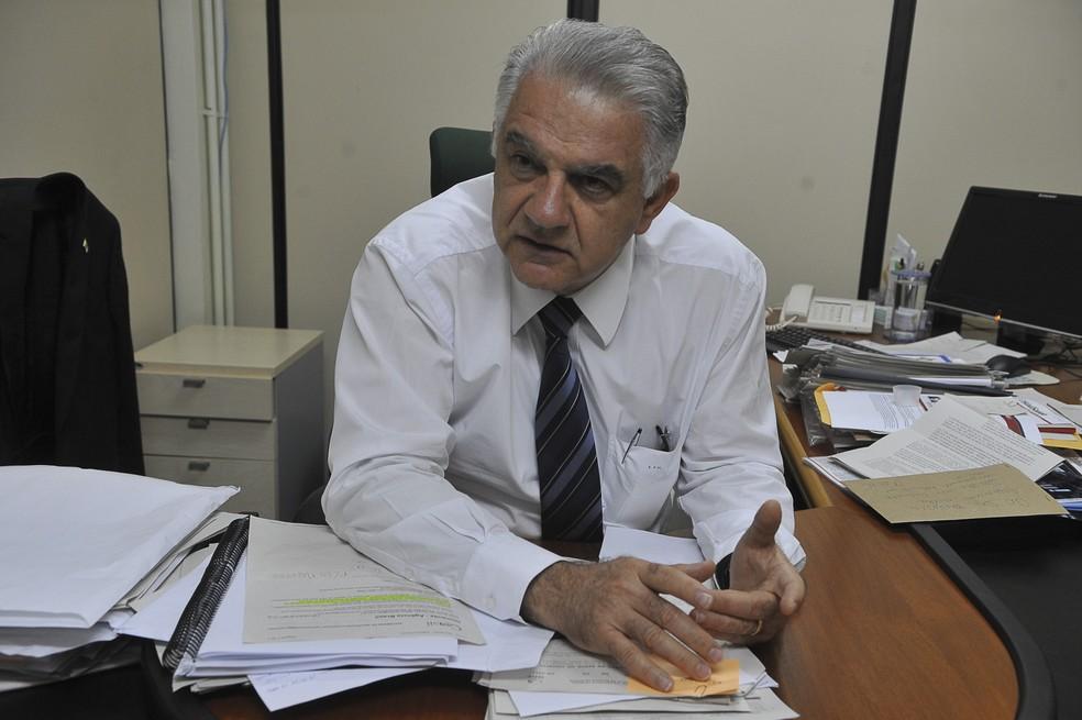 Elias Miziara, ex-secretário de Saúde do DF — Foto: Valter Campanato/ABr
