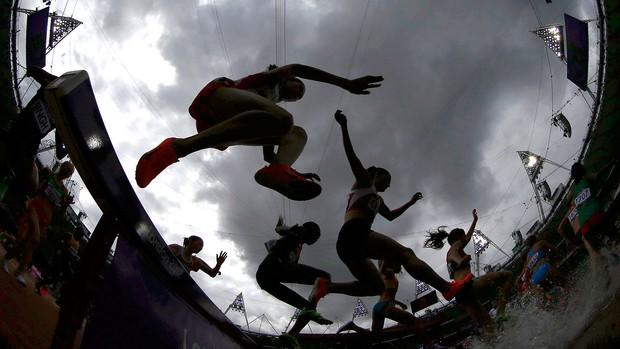 3000m com obstáculos londres 2012 (Foto: Agência Reuters)