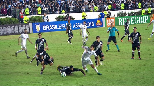 Assista aos gols do empate no clássico Vasco x Fluminense