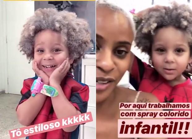 Antônio e Aline Wirley (Foto: Reprodução/Instagram)
