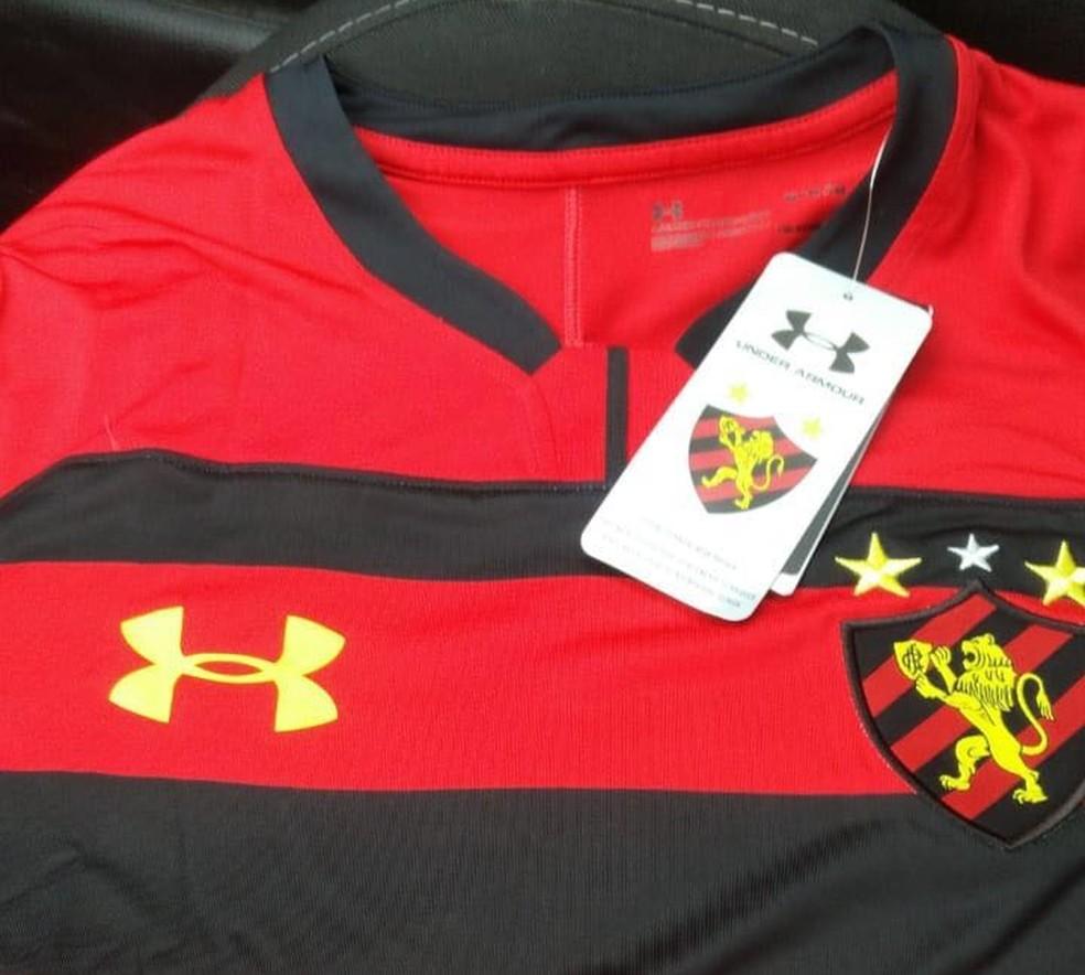 Sport não confirma, mas camisa Leão pode ser a que apareceu na internet, nos últimos dias (Foto: Divulgação)