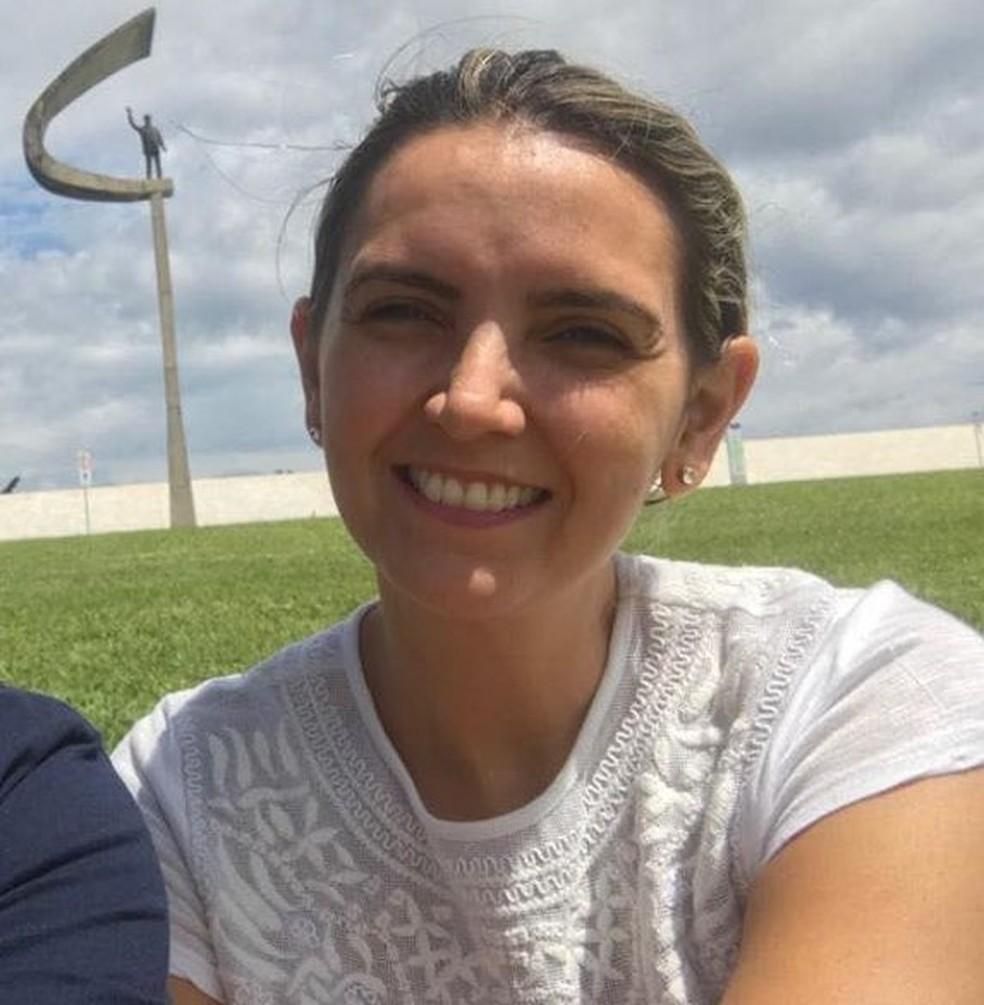 Virginia foi baleada quando chegava ao trabalho em Guarujá, SP — Foto: Arquivo Pessoal