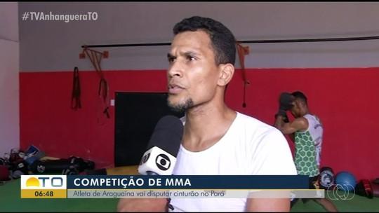 Lutadores de Araguaína se preparam para competir pelo cinturão de MMA no Pará