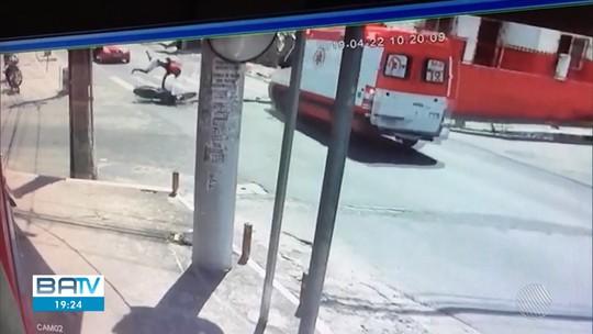 Equipe de ambulância do Samu que atropelou jovem é afastada das atividades