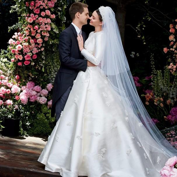 Miranda Kerr e James Spiegel (Foto: Reprodução)